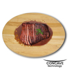 GRIPPERWOOD™ CONCAVE BOARD NATURAL RUBBERWOOD 14x18